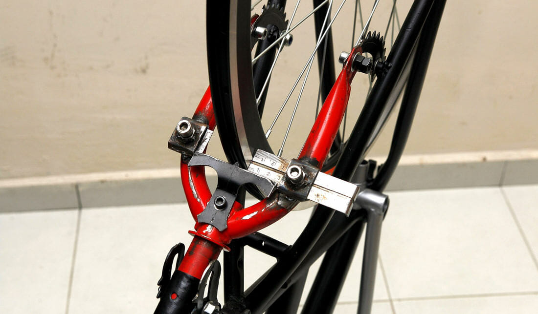 Wheel Centering In The Frame And Fork